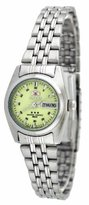 Orient #BNQ1W003R Women's Tri Star Luminous Dial Automatic Watch