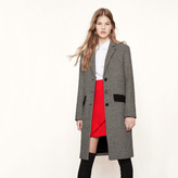 Maje Houndstooth check coat