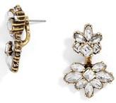 BaubleBar Women's Arcelia Crystal Ear Jackets