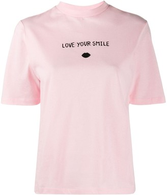 Markus Lupfer Nicola Love Your Smile T-shirt