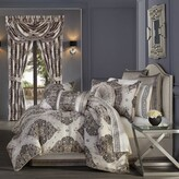 Thumbnail for your product : J Queen New York Vera 4-Piece King Comforter Set in Silver