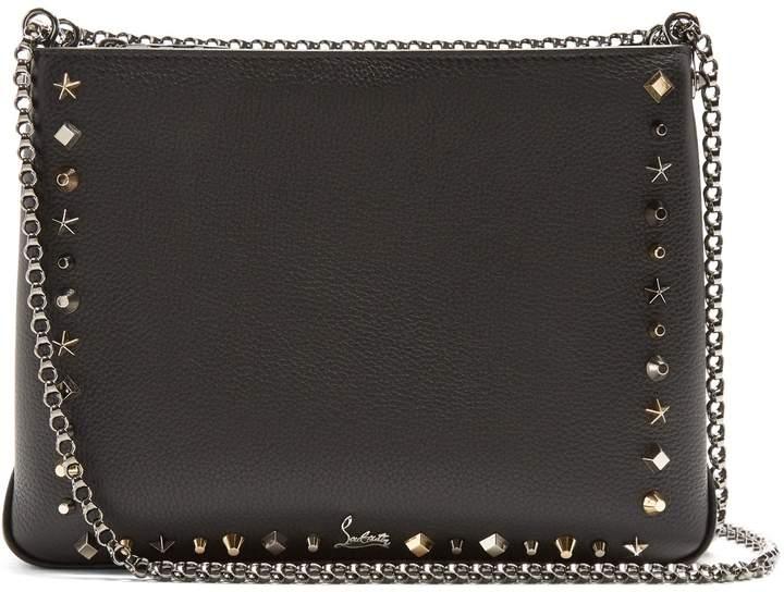 Christian Louboutin Triloubi large leather cross-body bag