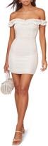 ASTR the Label Renata Ruffle Neck Minidress
