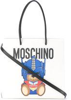 Moschino teddy bear logo tote bag