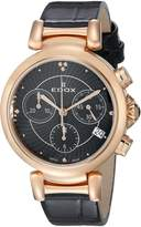 Edox Women's 10220 357RC NIR LaPassion Analog Display Swiss Quartz Watch