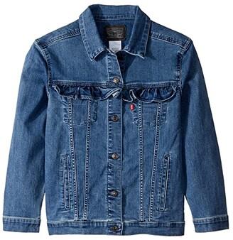 Levi's(r) Kids Denim Trucker Jacket (Big Kids) (Mel B) Girl's Jacket