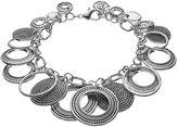Dana Buchman Textured Circle Bracelet
