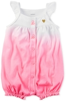 Carter's Ombré Cotton Romper, Baby Girls (0-24 months)