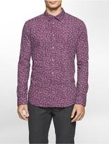 Calvin Klein Slim Fit Micro Floral Shirt
