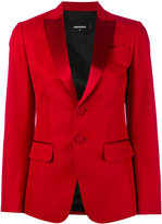 DSQUARED2 single breasted jacket - women - Cotton/Silk/Polyester - 38