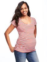 Old Navy Maternity Fitted Scoop-Neck Tee