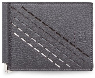 Fendi slim money-clip wallet