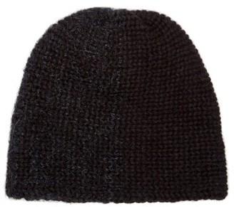 Reinhard Plank Hats - Bi-colour Wool Beanie - Womens - Blue