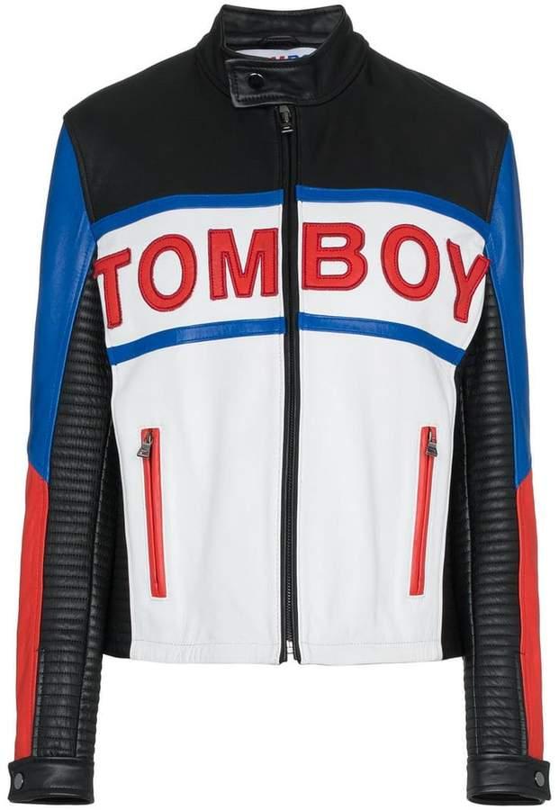 Filles a papa TOMBOY Tyson leather jacket