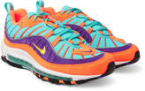 Nike - Air Max 98 QS Suede and Ripstop Sneakers