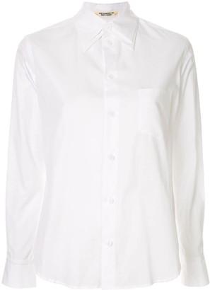 Yohji Yamamoto Double Collar Button-Up Shirt