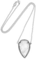 Pamela Love Arrowhead Silver Quartz Necklace