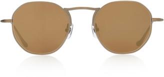 Matsuda Eyewear Round-Frame Metal Sunglasses