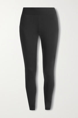 Commando Butter Stretch-jersey Leggings - Black