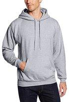 Hanes Men's Pullover EcoSmart Fleece Hoodie, Light Steel