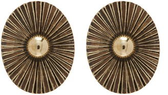 Anton Heunis 'Lily pad' antique style earrings