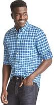 Gap Plaid oxford slim fit shirt