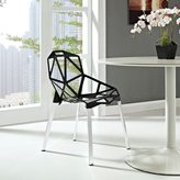 Modway 'Connections' Dining Chair in Black