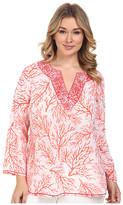 MICHAEL Michael Kors Size Solana Thread Work Tunic
