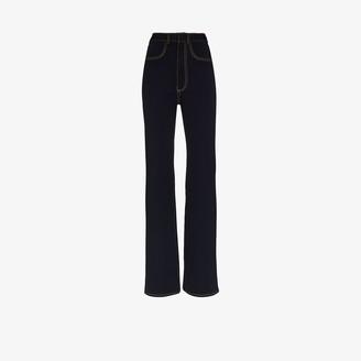 Alled-Martinez High Waist Jersey Jeans