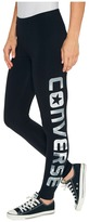 Converse Photoreal Wordmark Leggings Women's Casual Pants
