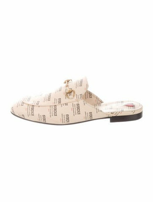 Gucci Horsebit Accent Leather Mules w/ Tags