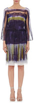 Alberta Ferretti WOMEN'S TIE-DYED CHIFFON DRESS