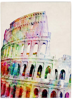 "Colosseum Michael Tompsett 'Colosseum' Canvas Art - 14"" x 19"""