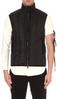 Ann Demeulemeester Funnel Neck Quilted Gilet
