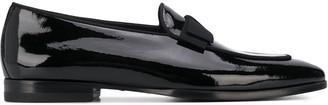 Tagliatore patent leather loafers