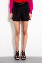 DKNY Tuxedo Pleat Front Short