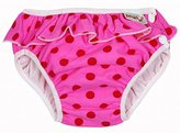 Imse Vimse Swim Diapers - Large - Pink Dots