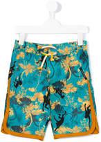 Roberto Cavalli printed swim shorts
