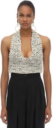 Jacquemus Melange Wool Knit Top