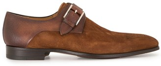 Magnanni Long-Toe Monk Shoes