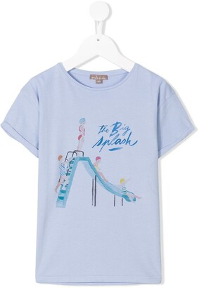 Emile et Ida the big splash T-shirt