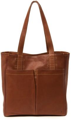 Frye Mindy Leather Pocket Tote