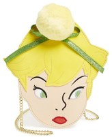 Danielle Nicole X Disney Tinkerbell Faux Leather Crossbody Bag - Yellow