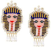 Shourouk 'Pharaoh' clip-on earrings
