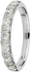 18ct Gold 0.50ct Diamond Eternity Ring