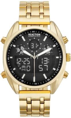 Kenneth Cole Reaction Men's Goldtone Bracelet Watch