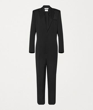 Bottega Veneta Suit In Grain De Poudre Wool