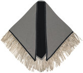 Antonia Zander fringed trim scarf - women - Cashmere - One Size