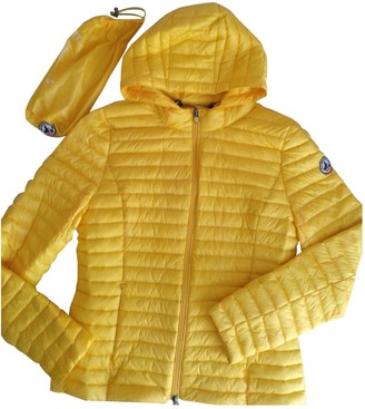 JOTT Yellow Leather Jacket for Women