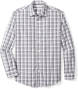 Amazon Essentials Men's Regular-Fit Long-Sleeve Casual Poplin Shirt